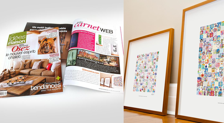 The Magazine Les Idées De Ma Maison Recommends Mozaica