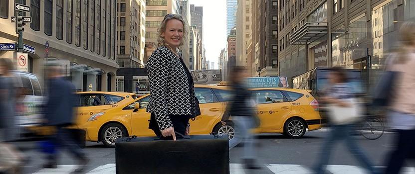 Affaires à New York